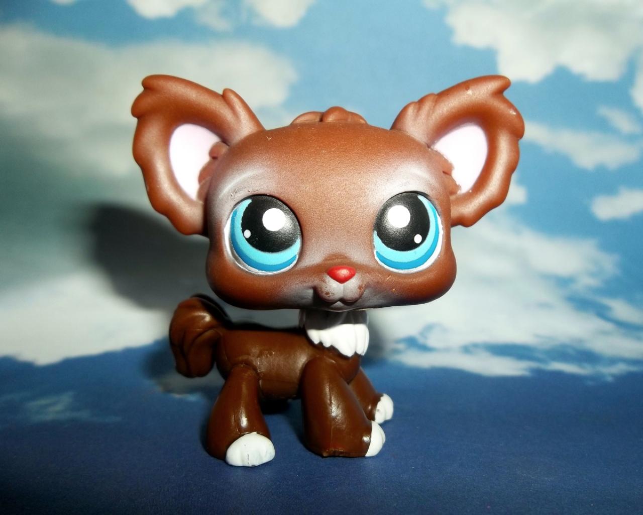 lps brown dog littlest - photo #23